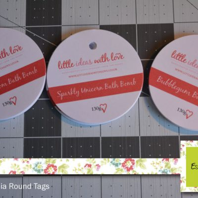 Foiled Tags – Round