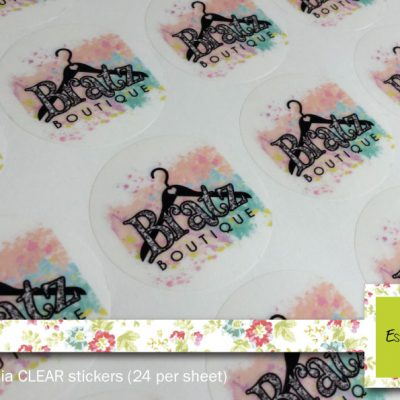 Clear Stickers