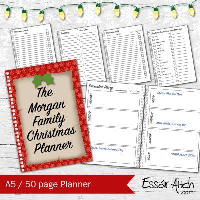 Christmas Family Planner