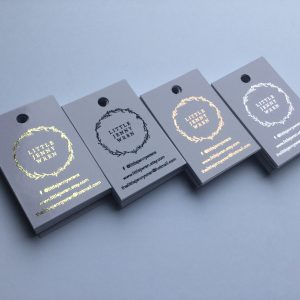 Foiled Tags