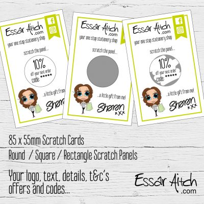 Custom Scratch Cards