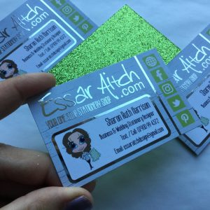 Foil Finish Business Cards