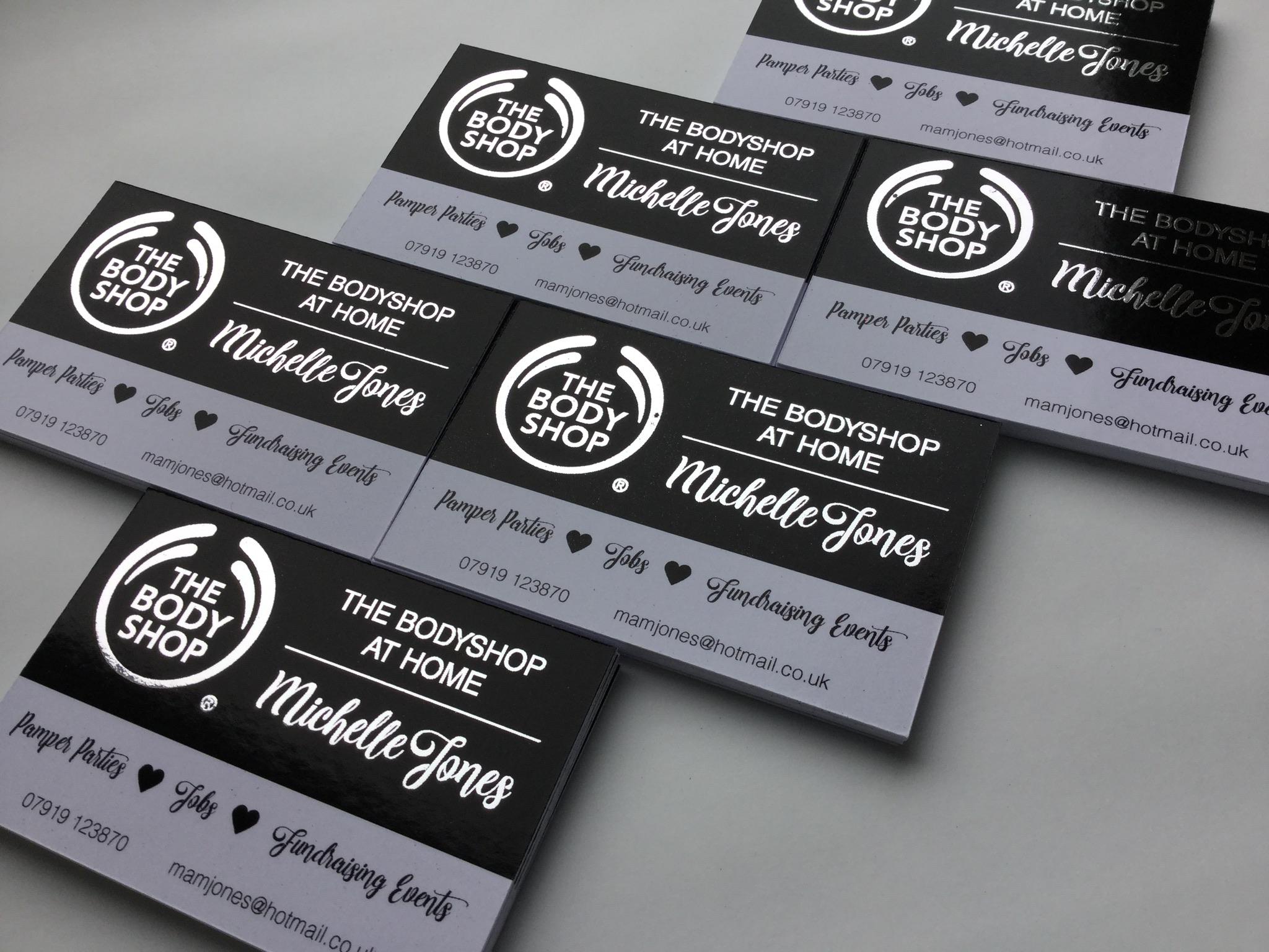 Foil finish business cards essar aitch foil finish business cards colourmoves