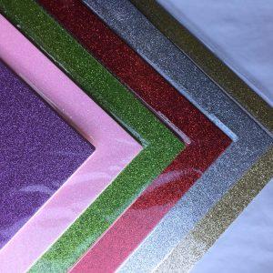 Foil Finish Glitter Business Cards