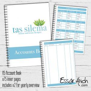 A5 Account Book