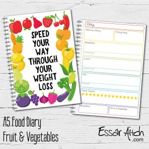 A5 Food Diary