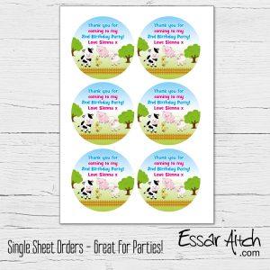 Single Sheet Stickers – READ BELOW!